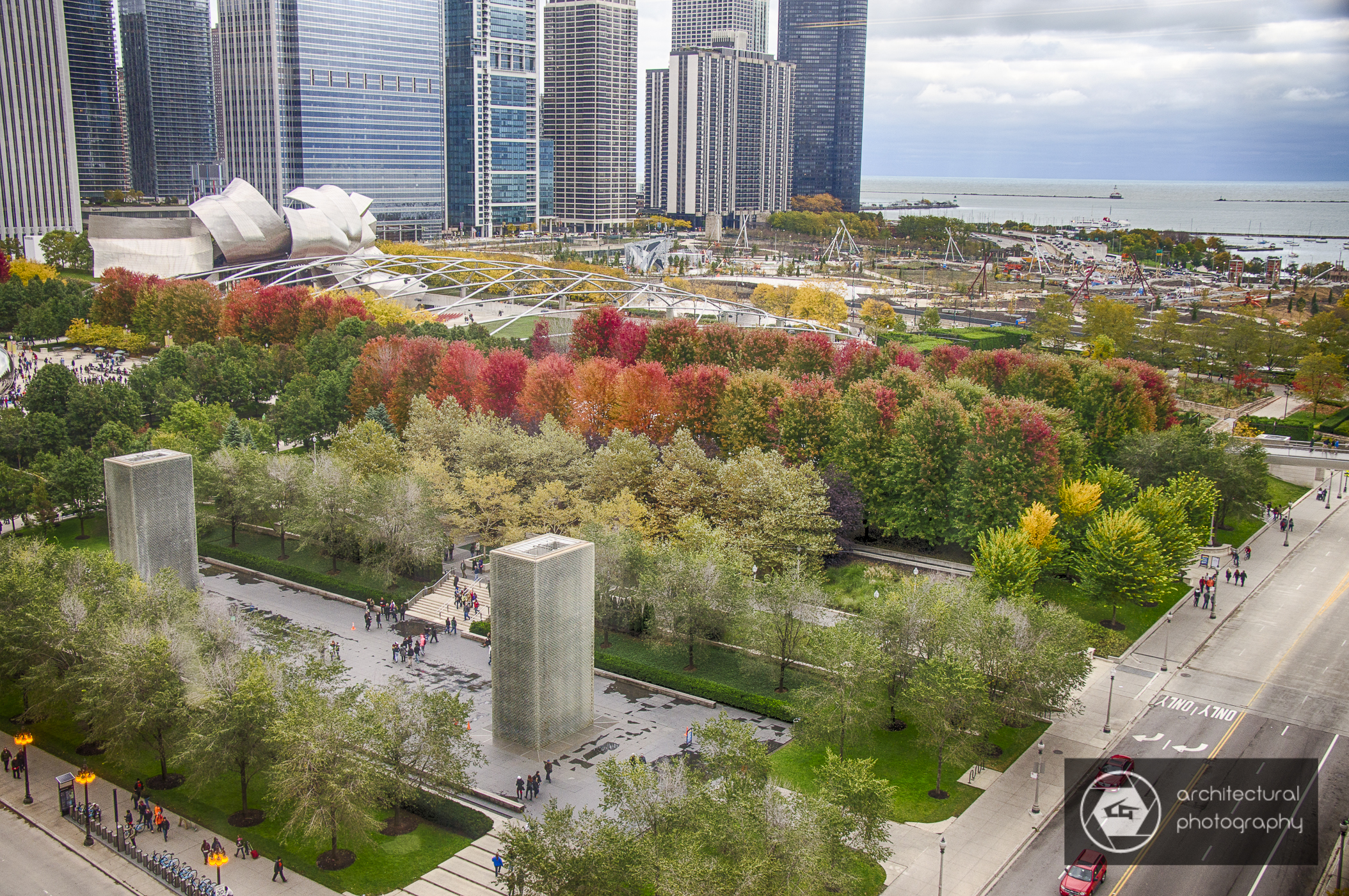 View of Millennium Park from Interior Architects