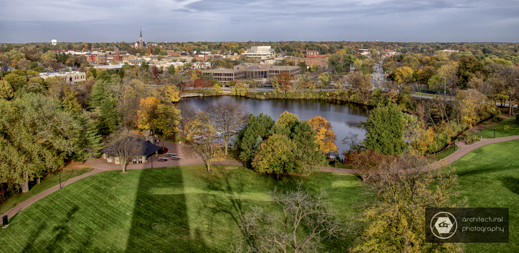 View From Moser Tower, Naperville