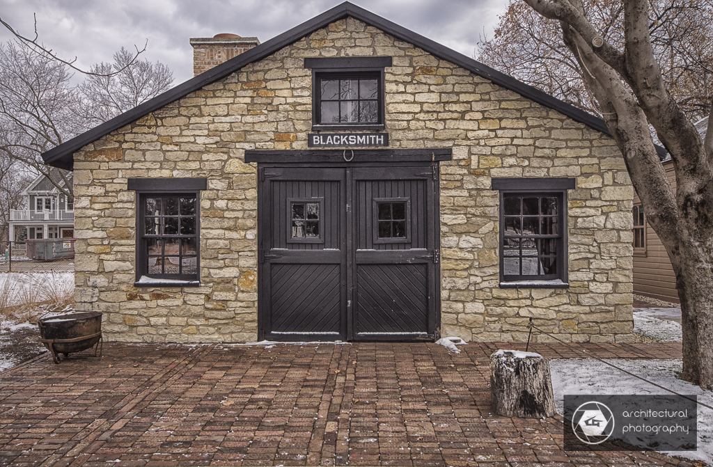 Blacksmith Shop at Naper Settlement, Naperville