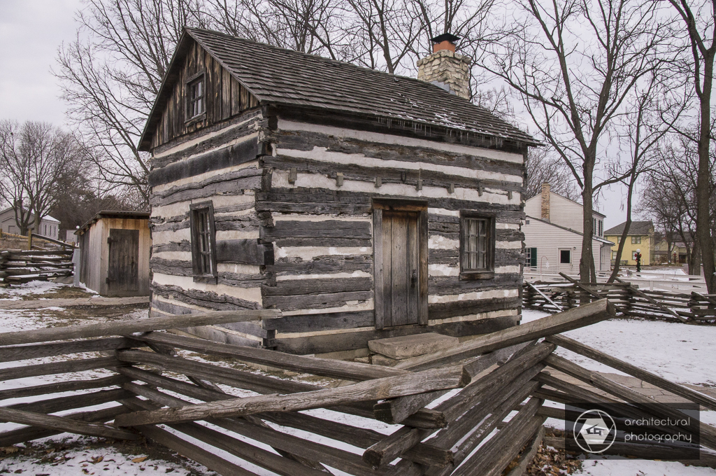 Log House At Naper Settlement, Naperville